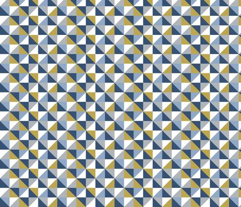 Geometric - Boys fabric by createstyledecorate on Spoonflower - custom fabric