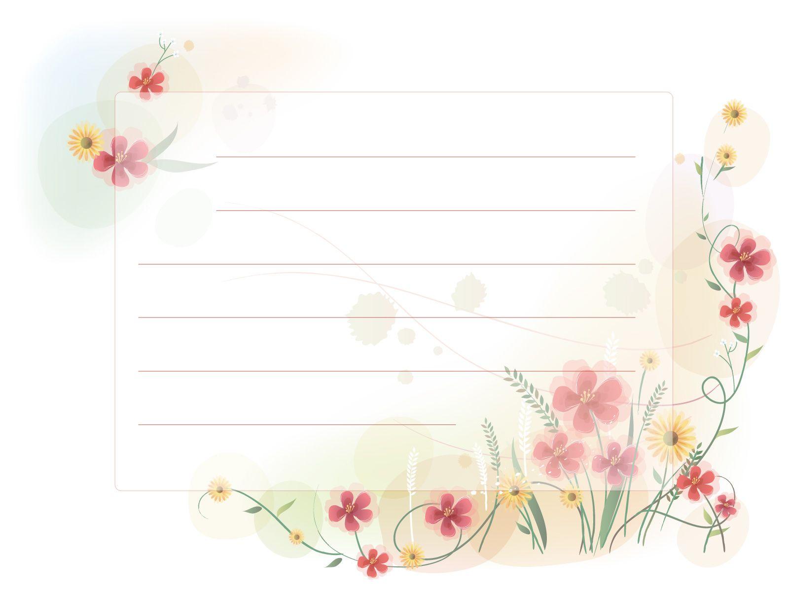Plantillas para cartas | Plantillas para cartas | Pinterest ...