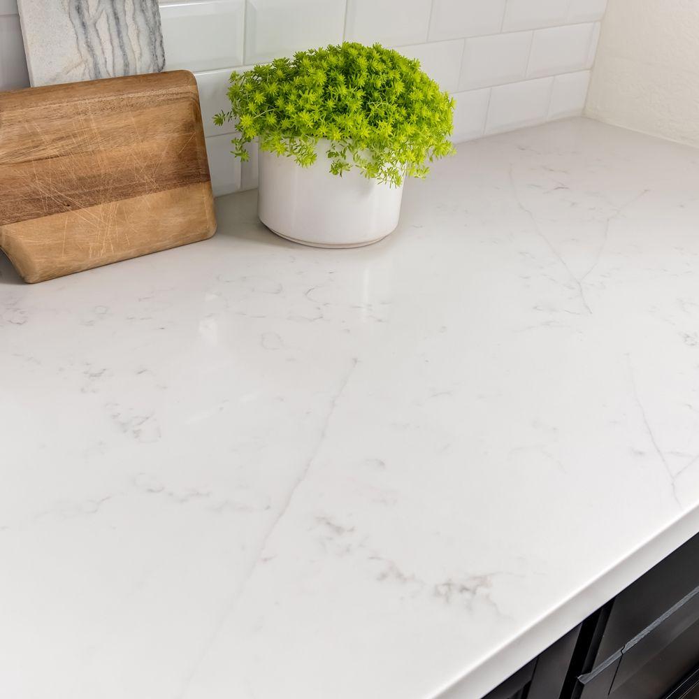 New Carrara Quartz Slab Arizona Tile