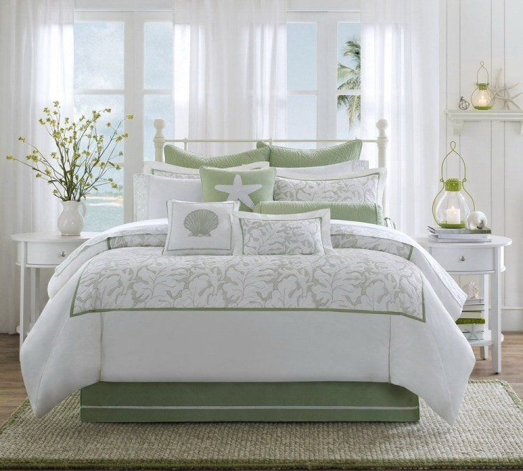 Chambre blanche en 65 super idées de meubles et décoration | Vintage ...