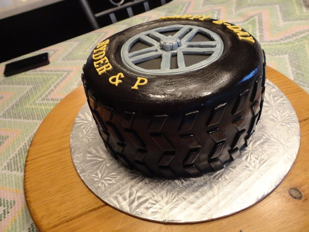 Tire Birthday Cake Cake Ideas And Designs