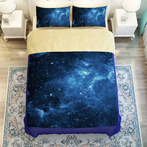 Galaxy Bed Spread Set Print Outer E Ni Https