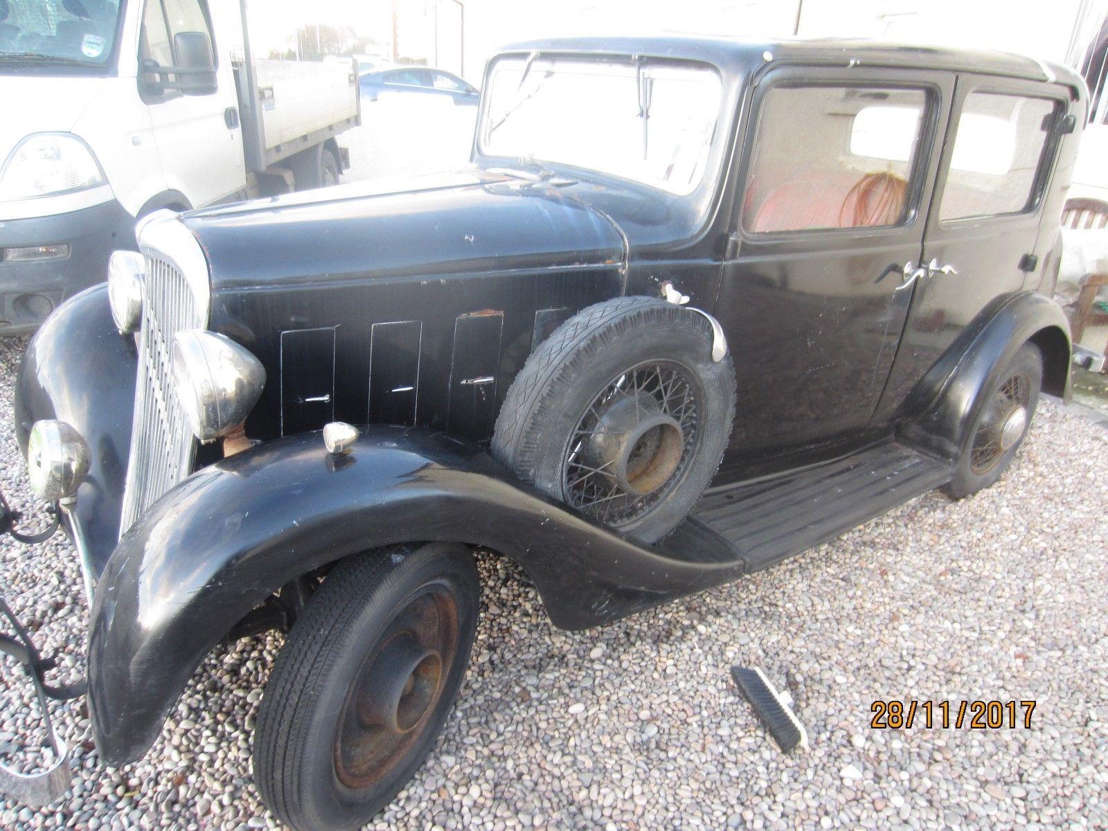 eBay: Original Classic 1932 Citroen Rosalie Berlene Saloon Car for ...