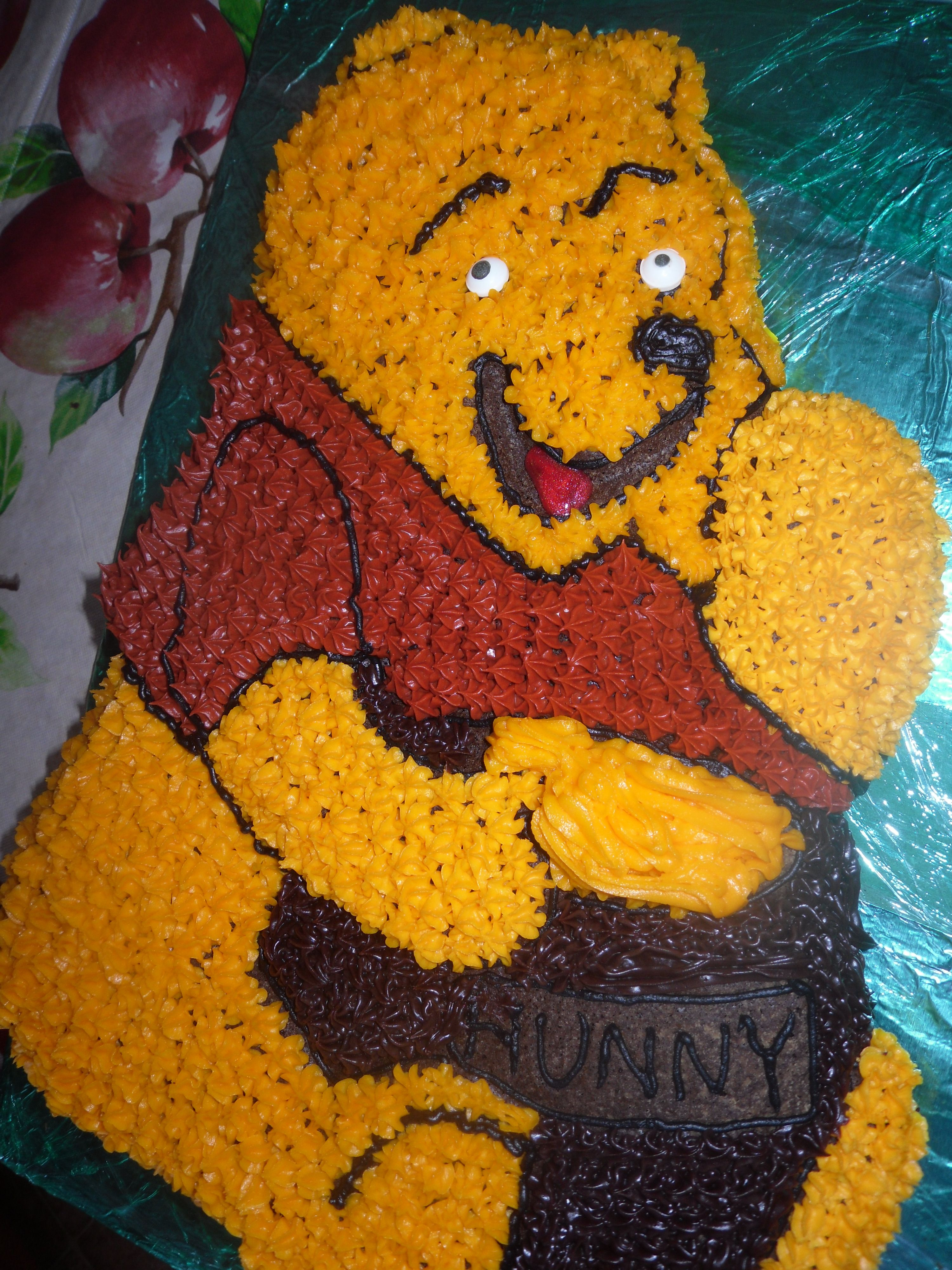My winnie the poo cake anakas class said it was a winner karens my winnie the poo cake anakas class said it was a winner voltagebd Choice Image