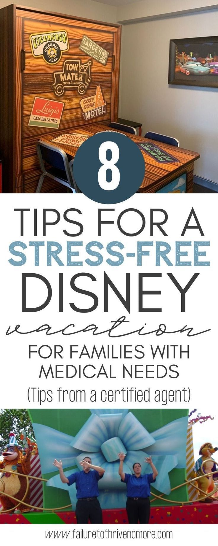 8 Tips for a Stress Free Disney Vacation