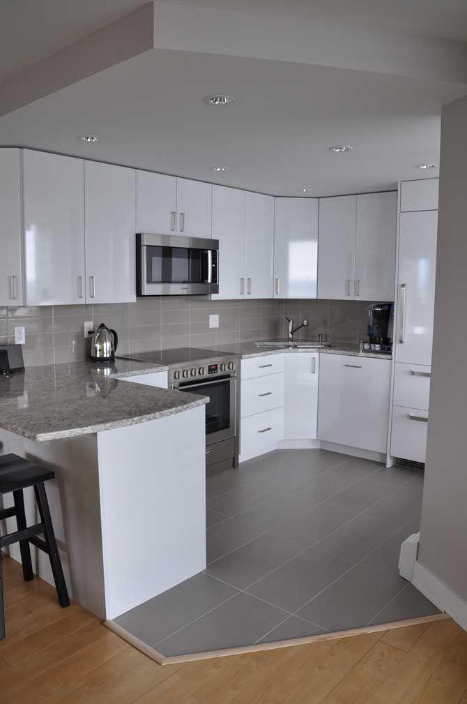 Small condo kitchen reno   Small condo kitchen, Modern ...