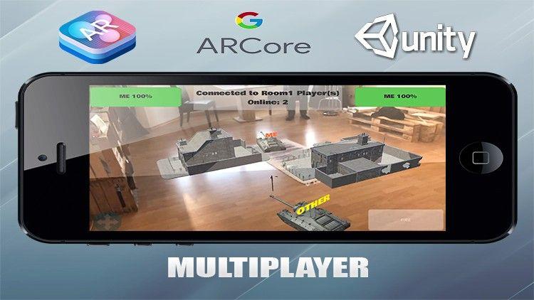 Erstelle Multiplayer Augmented Reality Apps Mobile Entwicklung Fur Ios Und Android Mit Unity3d Und C Unity Best Courses Pattern Design Design Design