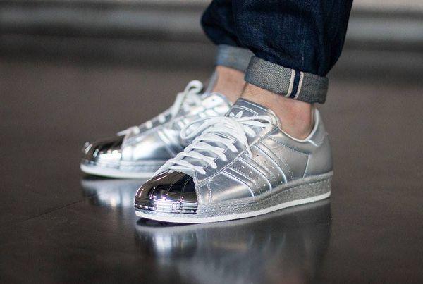hot sales 5076a 30959 Adidas Superstar 80's Silver Metallic | Adidas☆Superstar ...
