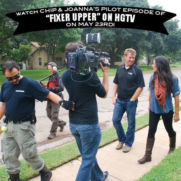 Baylor Alums Chip Joanna Gaines Have Shot A Pilot Episode For New Show Fixer Upper That Will Air On Hgtv In Prime Time May 23