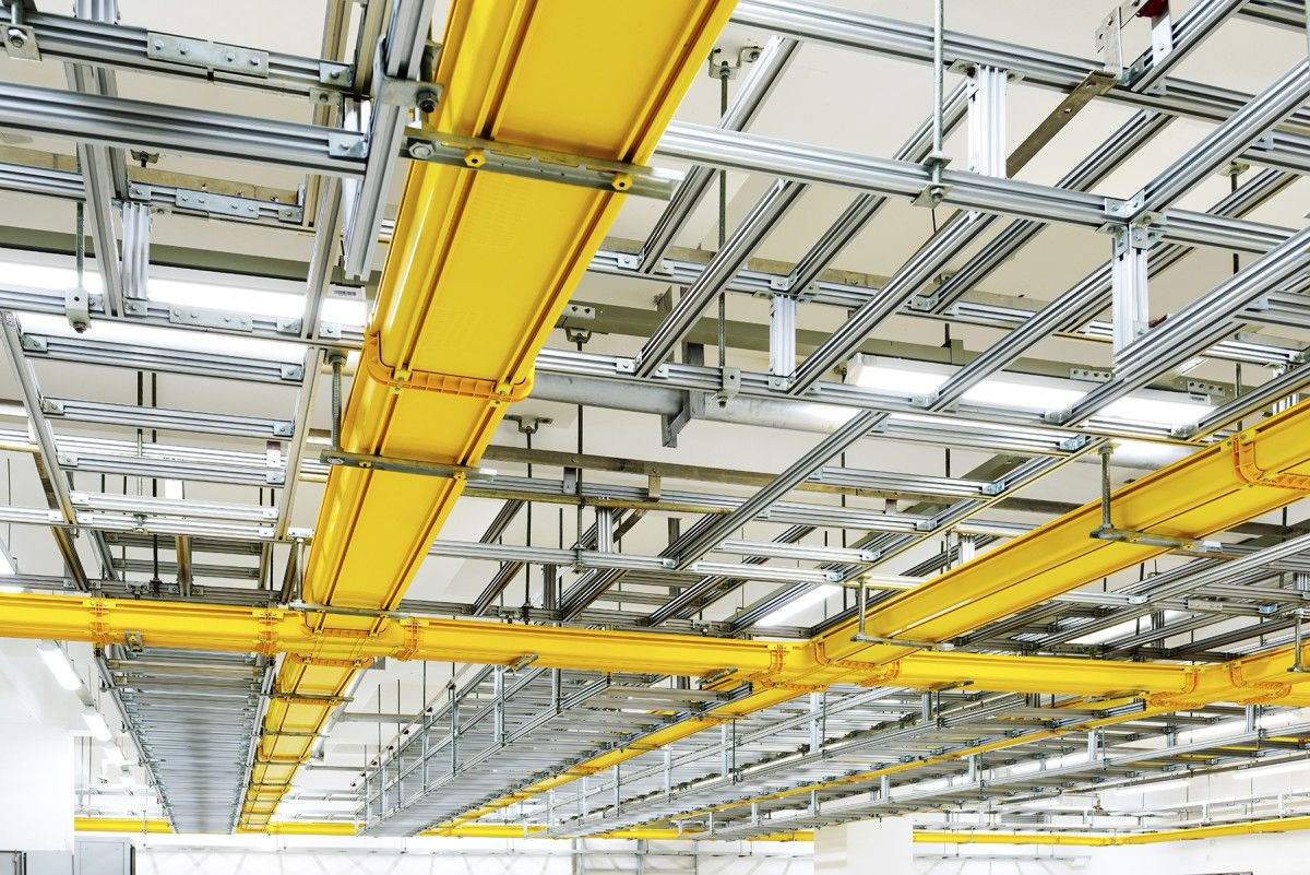 Cable Tray Wiring Systems Are Special Products Offering A List Of Advantages That Can T Be Expected From Other W Instalacion Electrica Electricidad Instalacion