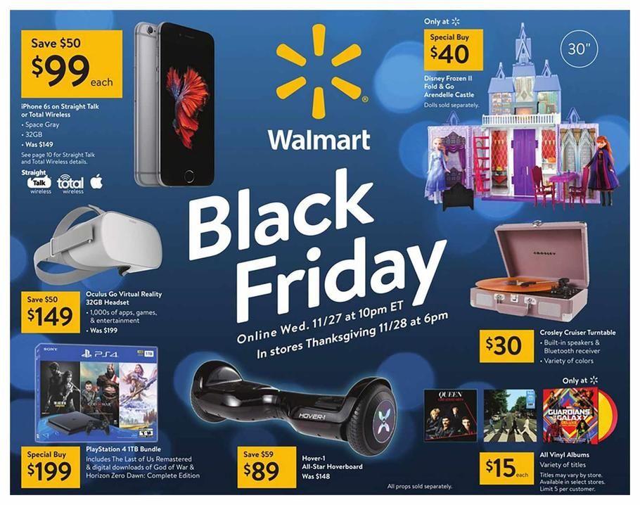 Walmart Black Friday Ad Scan Deals And Sales 2019 Walmart Black Friday Ad Black Friday Ads Black Friday