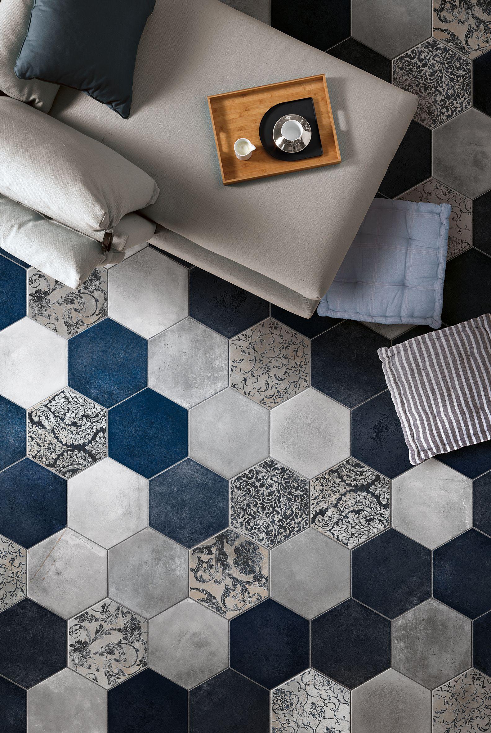 MIAMI by CIR | House tiles, Hexagon tiles, Style tile