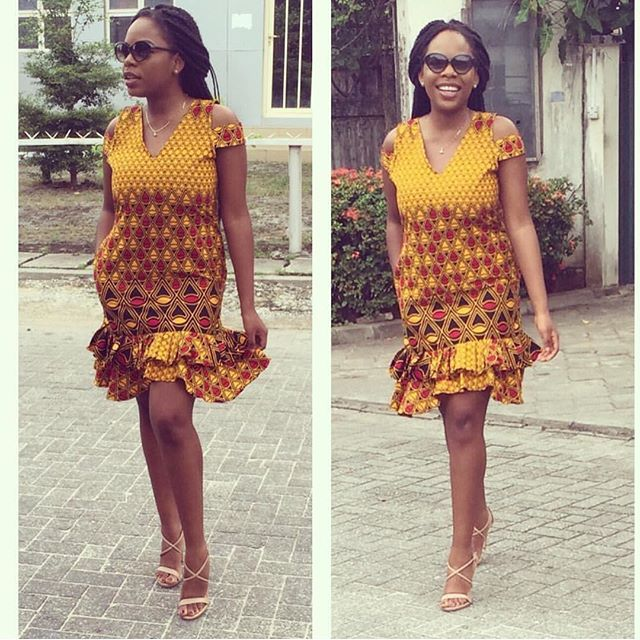Top Ten Creative And Unique Ankara Gown Styles In Nigeria Ankara Skirt Styles Ankara Gown Styles Ankara Gowns