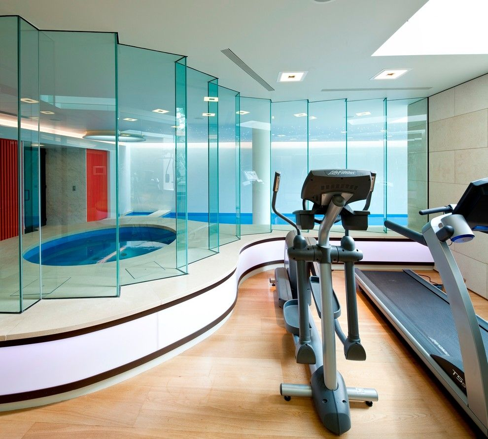 Home Gym Design Ideas Basement: Gym Ideas #KBHomes