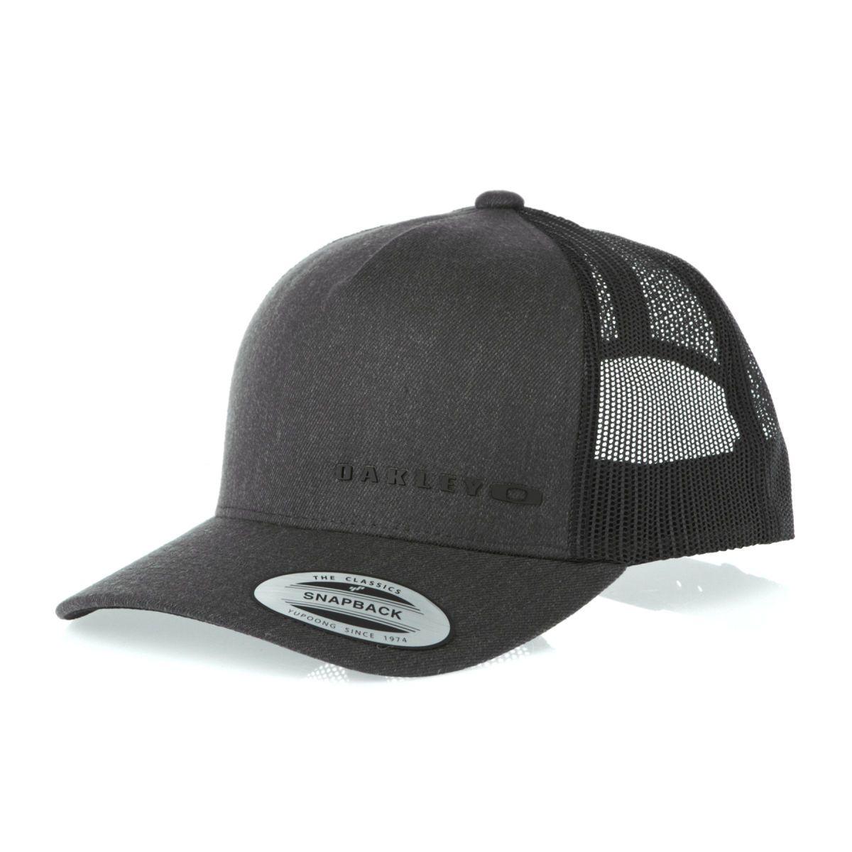90d7621f256e7f Oakley Caps - Oakley Halifax Trucker Cap - Black | My Style | Oakley ...