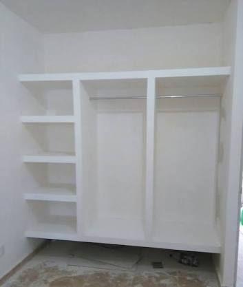 Resultado De Imagen Para Closet De Tablaroca Closet De Tablaroca Diseno De Armario Diseno De Armario Para Dormitorio
