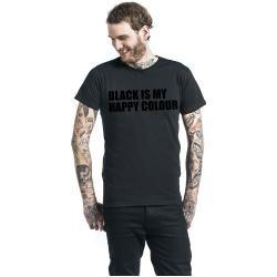 Black Is My Happy Colour T-Shirt #graphicprints