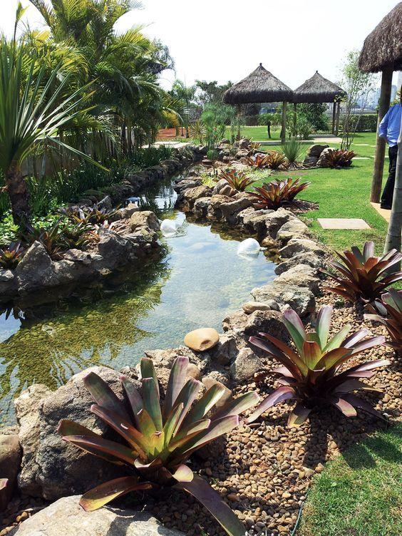 Lagos artificiais, você nunca viu algo tão incrível assim casas de - estanques artificiales