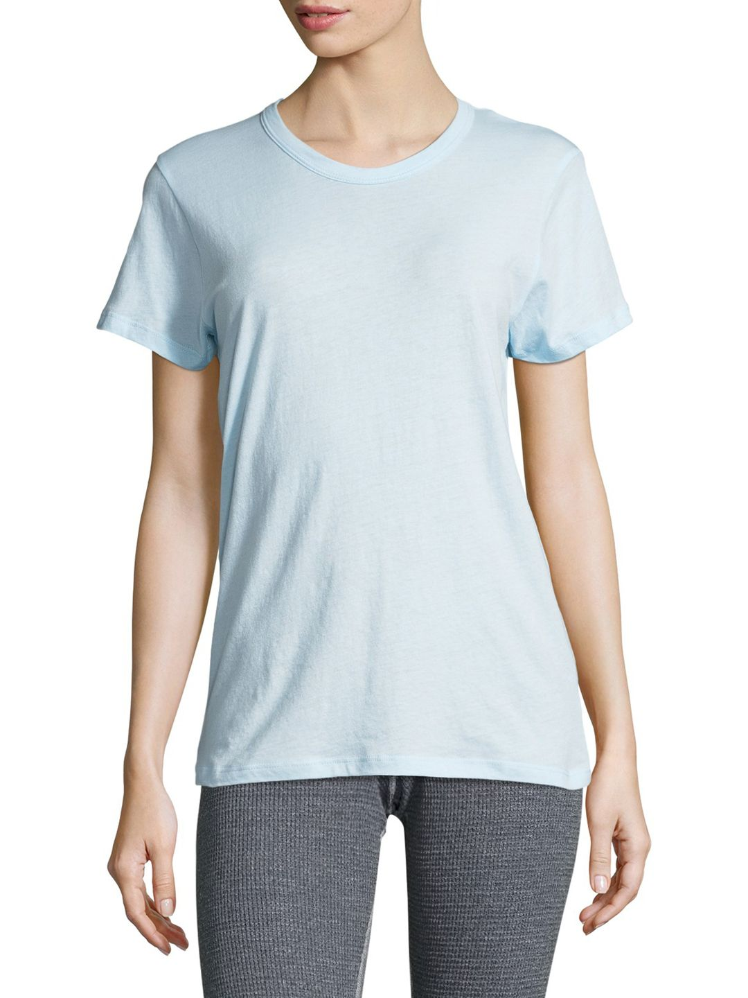 Monrow Woman Cotton-jersey T-shirt Pastel Pink Size L Monrow Cheap Order QrhUfgY8