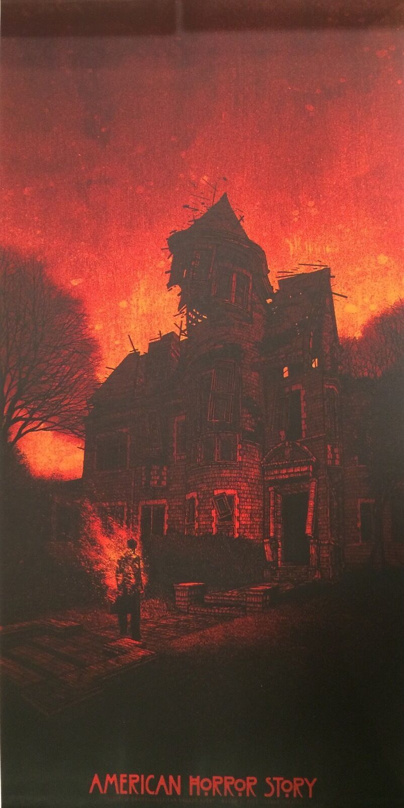 Details about Daniel Danger American Horror Story Season 1 240/300 Not Mondo Gallery 1988