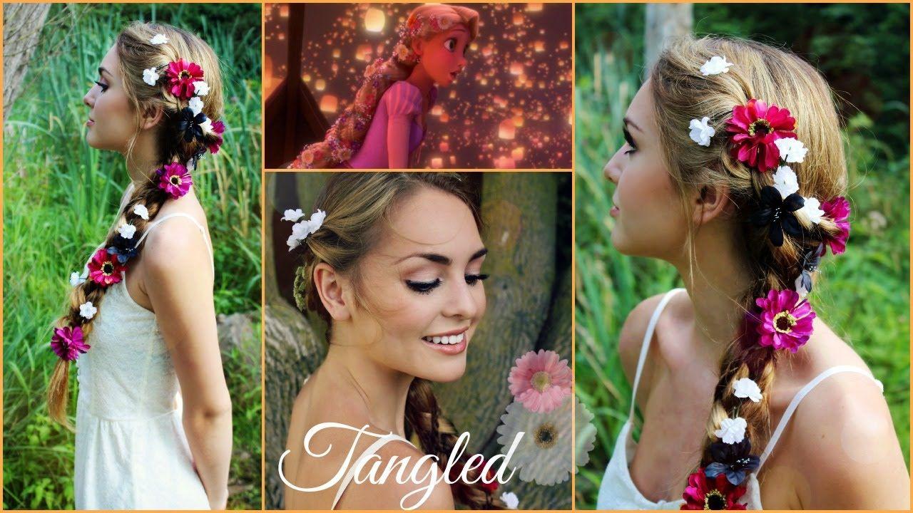 Rapunzel S Braid From Tangled Hair Tutorial Jackie Wyers Hair Tutorial Rapunzel Braid Tangled Hair