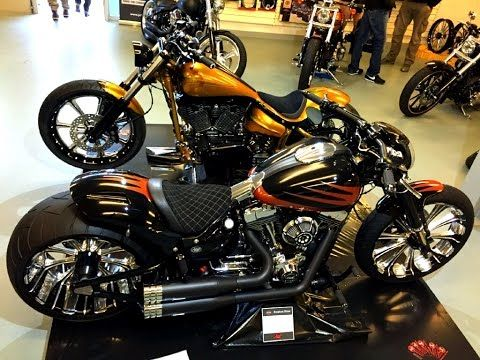 87e7facab5061 Harley Davidson Breakout Best Custom 300 Tyres - YouTube | Projects ...