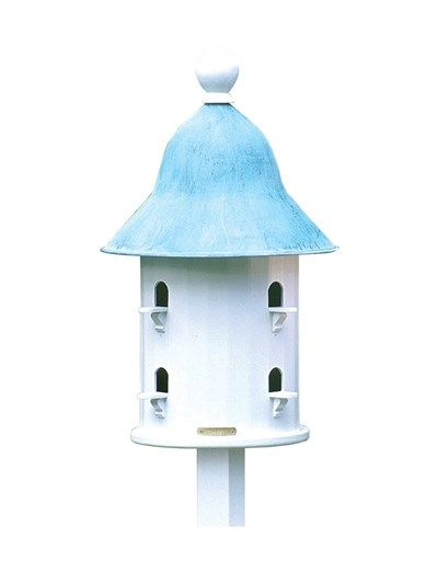 Bell Bird House with Copper Roof