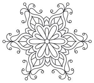 Craft  glamorous winter with this beautiful intricate snowflake design downloads as pdf also rh pinterest