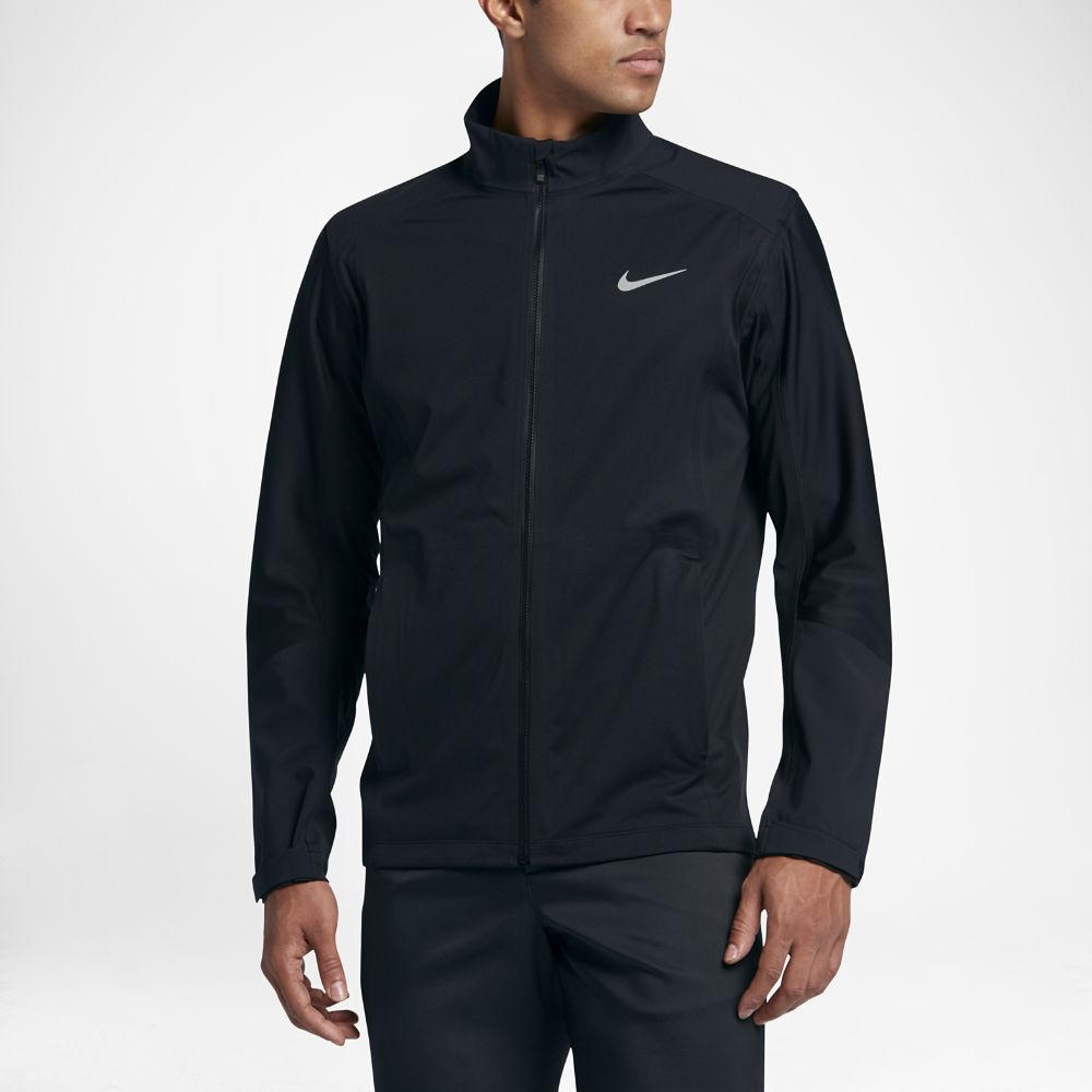 7bbf5f80f2e3 Nike Hyperadapt Storm-FIT Full-Zip Men s Golf Jacket Size Medium (Black) -  Clearance Sale