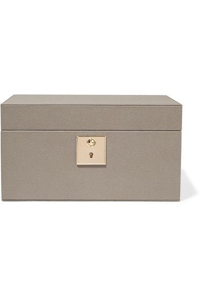 7bd13d90d25a SMYTHSON Grosvenor textured-leather jewelry box.  smythson  jewelry cases