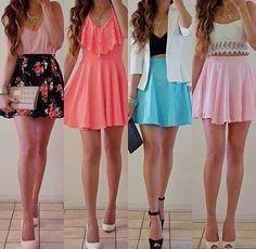 Diferentes Outfits     Diferentes Outfits