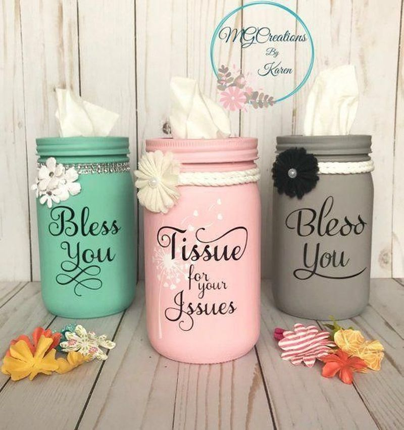 57 Outstanding DIY Crafts Project Ideas with Mason Jars