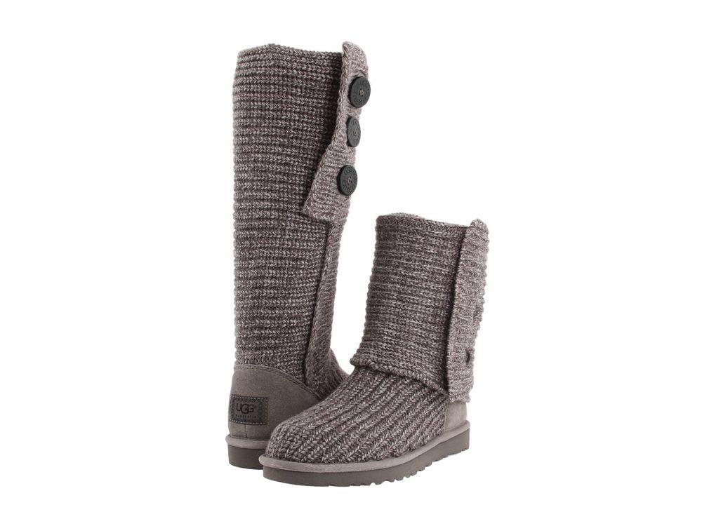 Women's Shoes UGG Australia Classic Cardy Merino Wool Boots