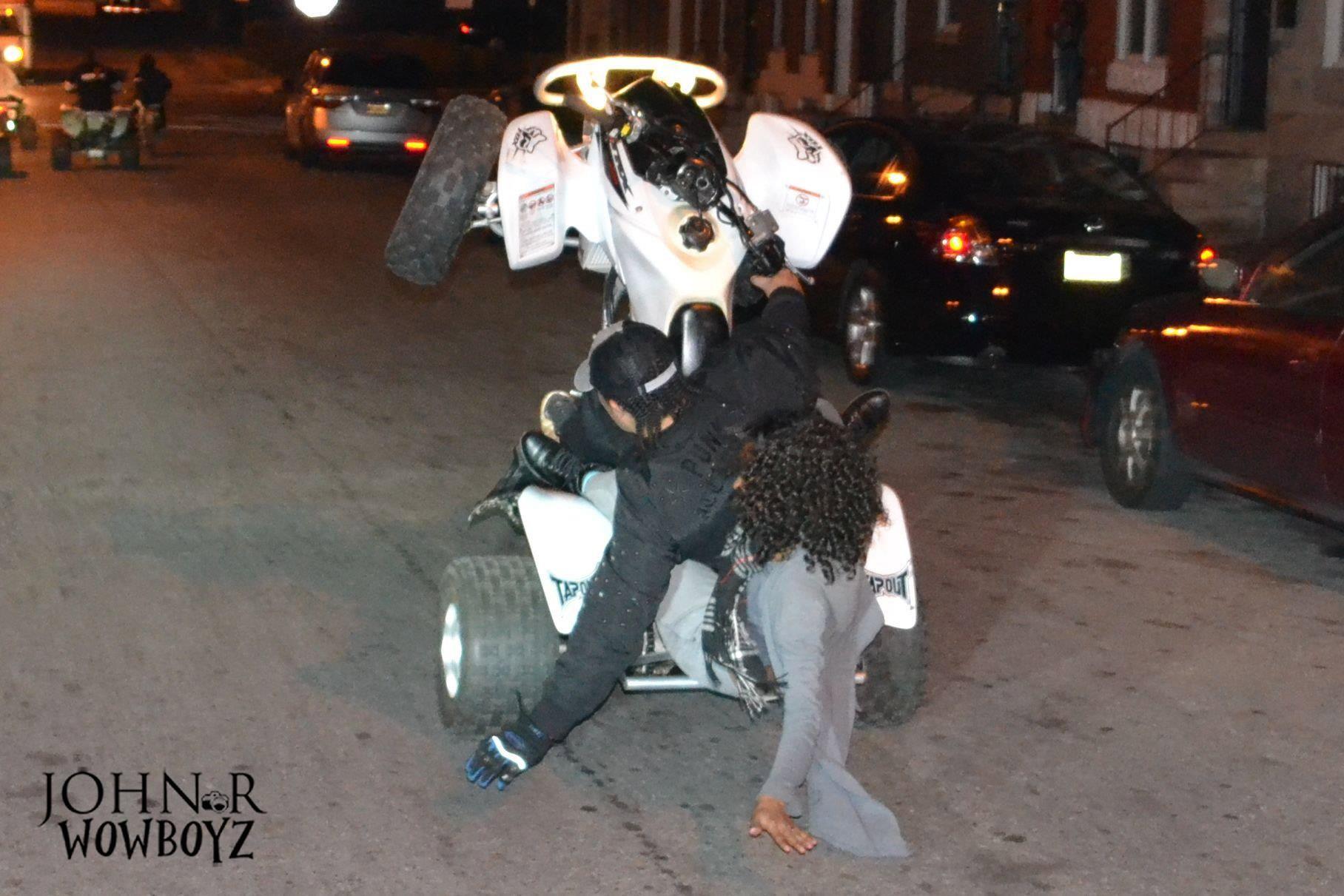Honda Wildout Wheelie Boys Bike Life Cafe Racer Monster Trucks