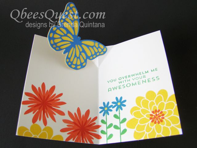 Qbee S Quest Note Cards Pop Up Cards Cards