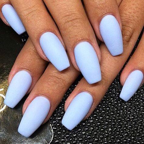 best matte nails  41 best matte nails for 2020  long