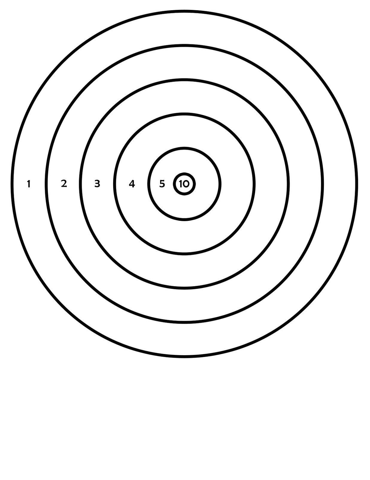 This is a photo of Crazy Printable Bb Targets