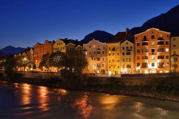 Altstadtgebäude in Innsbruck