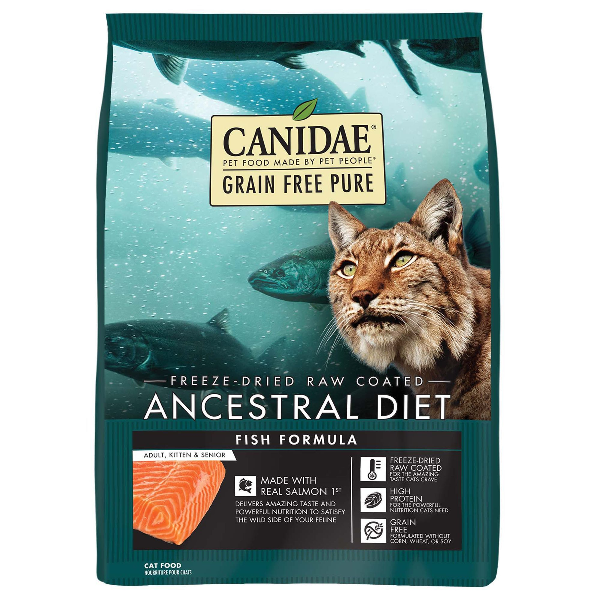 CANIDAE® Ancestrial Diet Indoor Cat Food Raw, Freeze