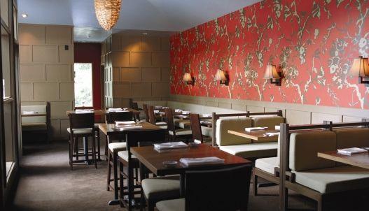 Restaurant Kitchen Wallpaper love the wallpaper in uchi restaurant austin | misc concepts