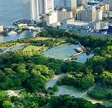 Hamarikyu Gardens Tokyo Japan - Bing Images