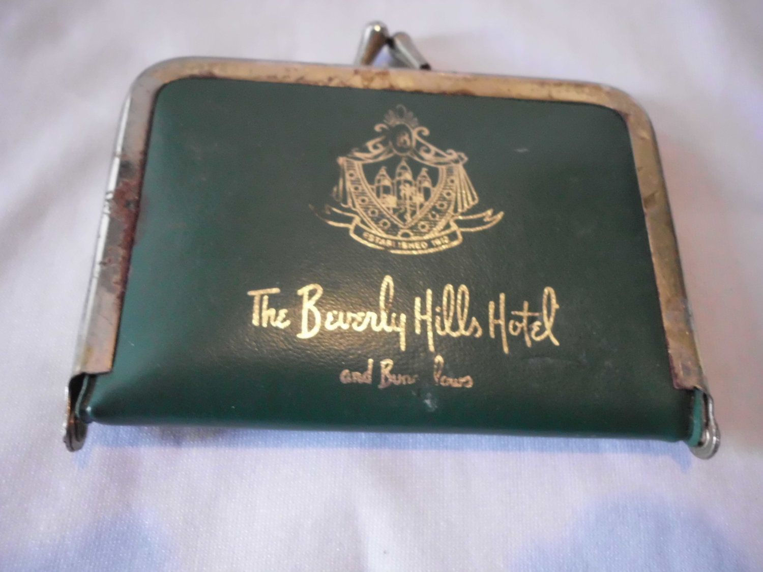 Vintage Beverly Hills Hotel Sewing Kit 1950s. 18.00