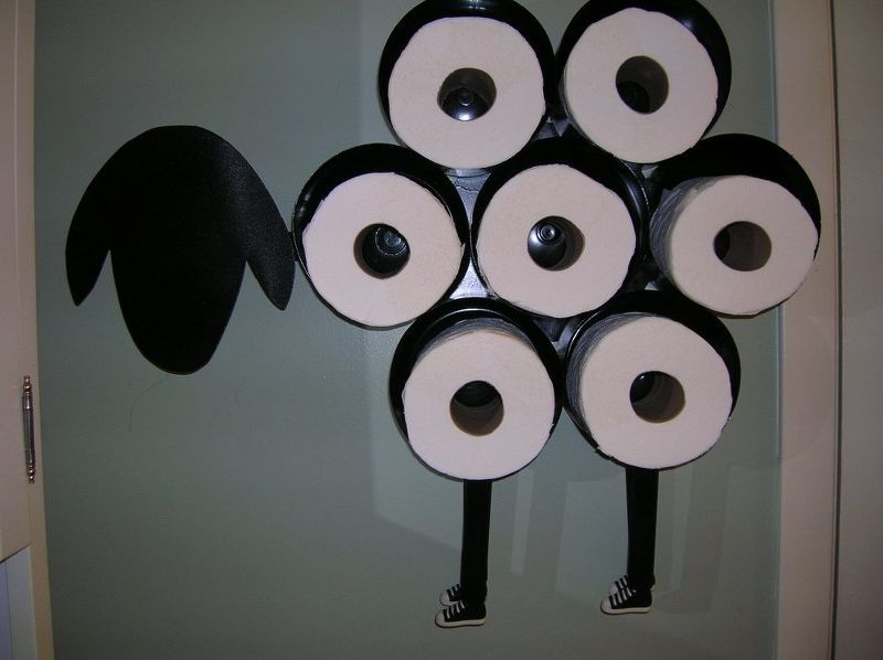 Sheep Toilet Paper Holder Build Your Own Toilet Paper Sheep