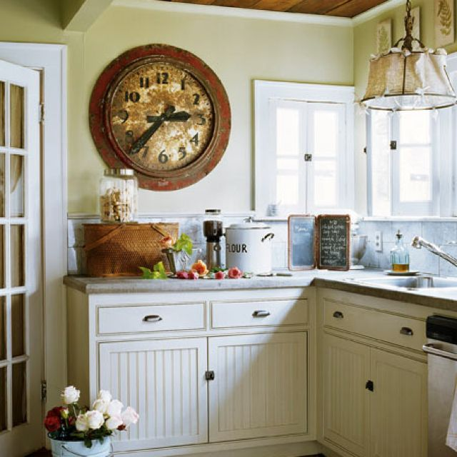 Best Simple Country Kitchen Country Casual Kitchen Styling 400 x 300