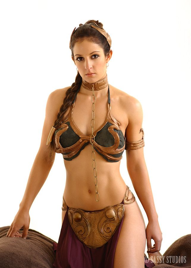 Slave Leia, Star Wars, by Sassy Studios.