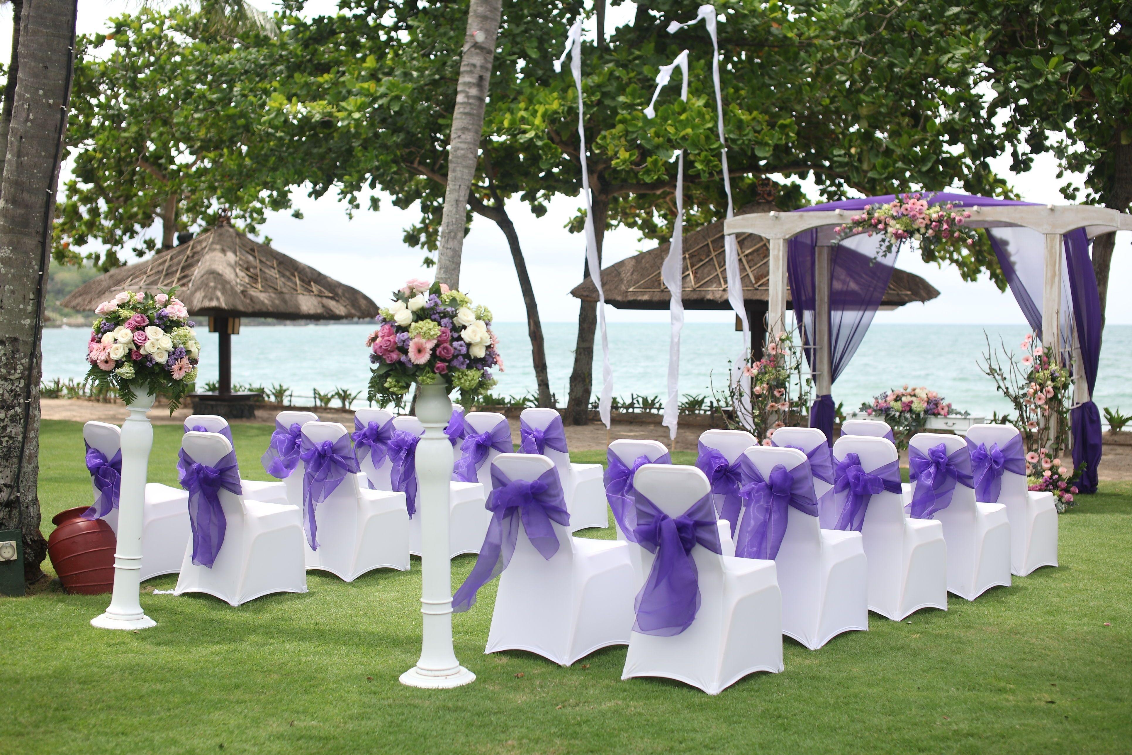 Purple Wedding Decoration Wedding Venues Beach Purple Wedding