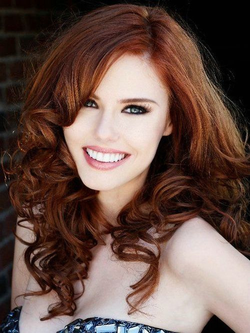 Auburn Hair Color With Blue Eyes  Auburn Hair Colors
