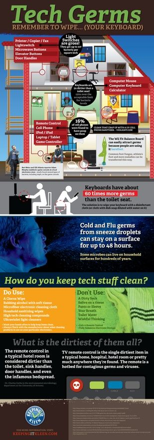 TECH GERMS!  Anyone that is handling food should read this www-keepingitkleen-com