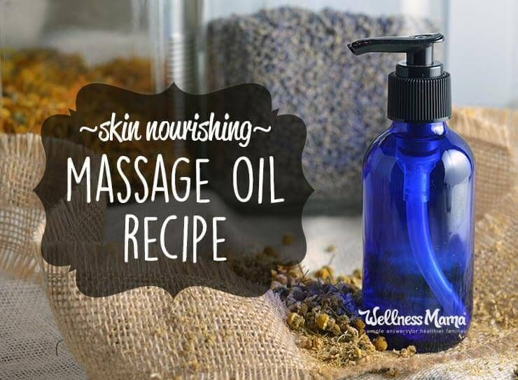 Homemade Massage Oil Recipe Easy Diy Tutorial Homemade Massage