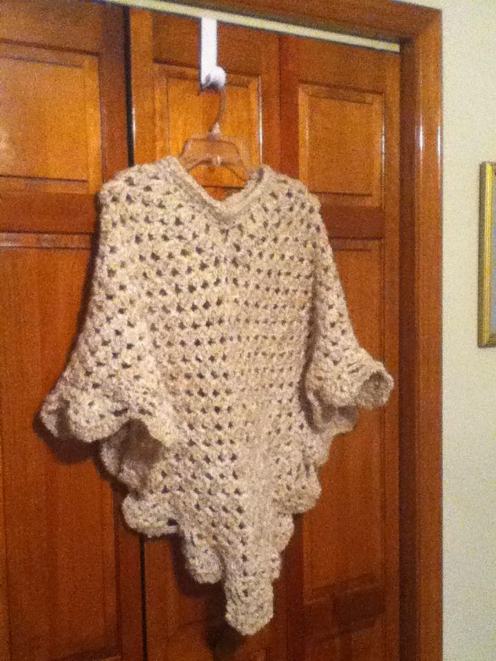 Martha Stewart Coming Home Poncho   crochet ideas   Pinterest ...